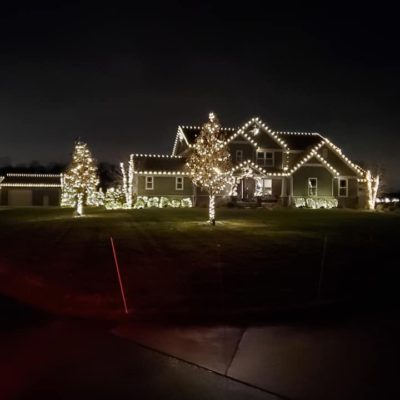 Christas Lights Holiday Lights on home in Lansing Michigan Land Visions